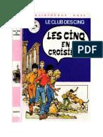 Blyton Enid Les Cinq 19 Les Cinq et en Croisière 1980