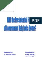 presidential India