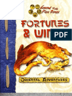 Oriental Adventures - Fortunes and Winds by Azamor