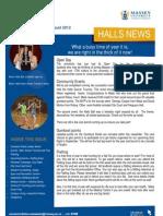 Halls News Issue Five 2012