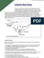 RamPump - Hydraulic Ram Pump