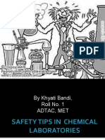 Safety Tips Ppt