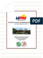 State of Local Governance Report 2011
