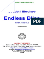 Se'âdet-i Ebediyye ENDLESS BLISS - Fascicle 1 of 5 (Free eBook)