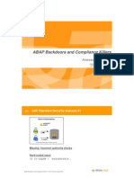 8 Andreas Wiegenstein ABAPbackdoorsandcompliancekillers Virtualforge 100907