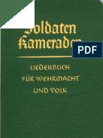 Pallmann, Gerhard - Soldaten Kameraden - Liederbuch Fuer Wehrmacht Und Volk (1940, 124 S., Scan, Fraktur)