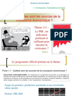 Thème 111 - Le PIB