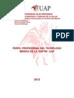 PERFIL DEL TECNÓLOGO MÉDICO 2012 crregido