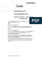 T216 2011 Exam Paper