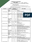 Sargodha University Ma Msc Part2 Date Sheet 2012