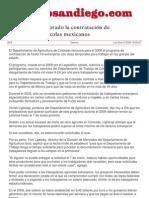 Renuevan en Colorado La Contratación de Trabajadores Agrícolas Mexicanos