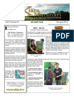 RCBKS Bulletin Vol 21 No 7