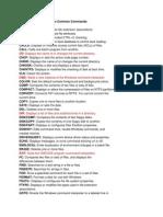 CMD Keywords(1)