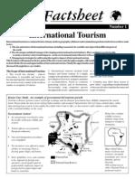 01 International Tourism