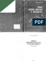 Vene Bogoslavov - Zbirka rešenih zadataka iz matematike 3
