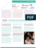 Building women's global meaningful participation in the HLM on AIDS_Women's Priorities Asia Pafic