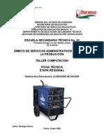 Análisis de Objeto Técnico La Maquina de Soldar