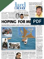 Manila Standard Today -- August 20, 2012