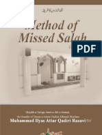 Method of Missed Salah (Hanafi)