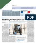 La Crisis y Su Impacto en La BVL