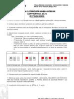 Examen Electricista Minero Interior