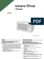 Samsung Timesaver 1000W (MW123H XSA-03101A GB)