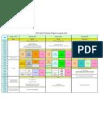 Program Table 072012