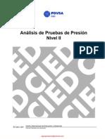 CIED PDVSA - Análisis de Pruebas de Presión, Nivel II