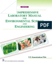 A Comprehensive Laboratory Manual for Environmental Science and Engineering 2010