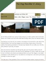 The Dog Rambler E-diary 13 - 17 August 2012