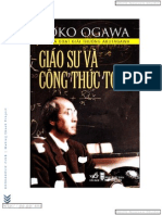 Giao Su Va Cong Thuc Toan - Yoko Ogawa - Smith.N Studio