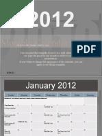 2012 CM Calendar