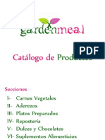Catalogo Garden Meal 2012