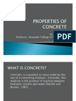 Dr. G. S. Kame, Professor, SCOE. Properties-Of-Concrete
