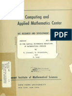 Richard Courant Onpartialdifferences FiniteDiferences Paper