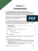 1 Fundamentals