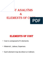 Elements of Costs