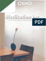 OSHO Meditation Inc.