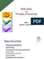 Principle of Accounting