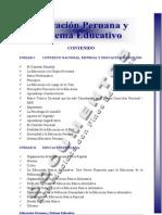 Asignatura 1 Educacion Peruana y Sistema Educativo