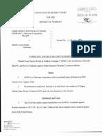 Amer Sports Winter & Outdoor Company v. Kastner