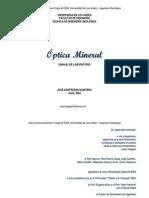 Manual Optica Mineral Parte i Kjk
