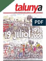 Revista Catalunya Nº 77 Juliol-Agost 2006  CGT