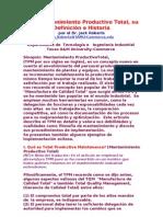 Definicion e HistoriaTPM Mantenimiento Productivo Total