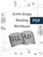 6th Grade Reading Workbook