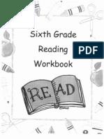 6th Grade Reading Workbook