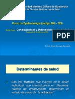 6 Condicionantes y Determinantes de La Salud 01-02-20112