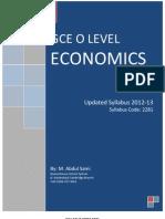 Economics- O Level Syllabus 2012-13