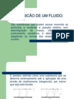Definição de um fluido - dimensões e sistemas de unidades