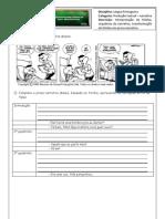 NARRATIVA - Texto 3- Organizar Narracao e Falas
